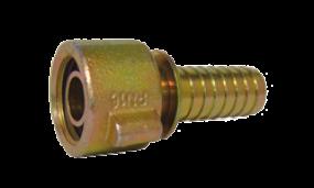 Verschraubung PN 16 DIN 20033 mit O-Ring-Dichtung