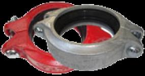 Flexible Nut Kupplung Nr. 01N (rot lackiert)