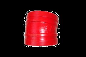 Nut Bogen 11,25° Nr. 105 (rot lackiert)