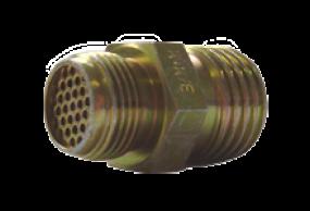 Anschlussnippel mit Sieb DIN 20037 mit Sieb