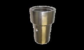 Düsenhalter aus Aluminium