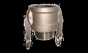 Kamlok-Kupplung Mutterteil Außengewinde (Aluminium)
