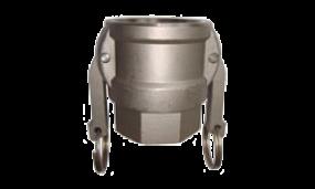 Kamlok-Kupplung Mutterteil Innengewinde (Aluminium)