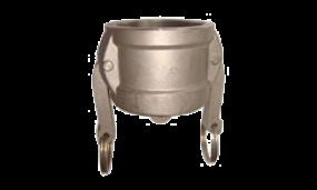 Kamlok-Kupplung Mutteteil Kappe (Messing)