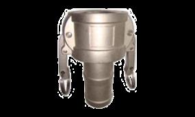 Kamlok-Kupplung Mutterteil Schlauchtülle (Aluminium)