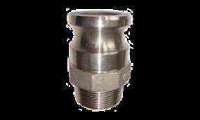Kamlok-Kupplung Vaterteil Außengewinde (Aluminium)